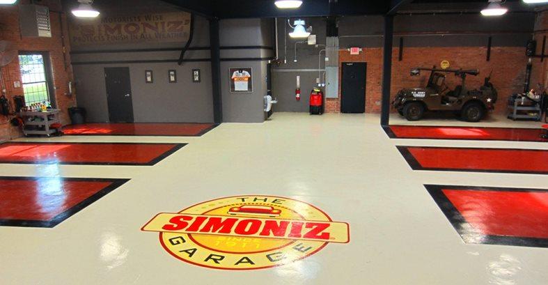 Auto Shop Flooring, Epoxy Flooring Commercial Floors Custom Concrete Solutions, LLC West Hartford, CT