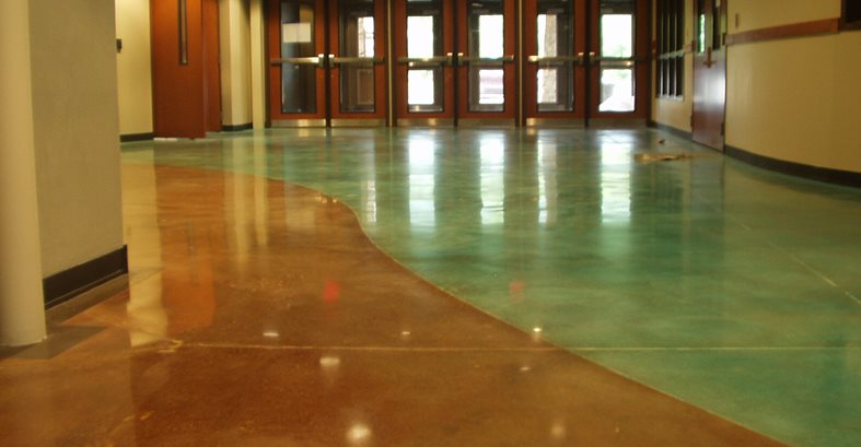 Commercial Floors Carolina Concrete Floor Polishing LLC Spartanburg, SC