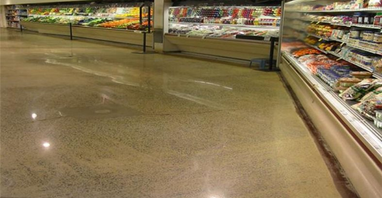 Commercial Floors Concrete Polishing & Artistic Staining of AK Chugiak, AK