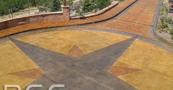 Driveway Turnaround Commercial Floors Rad Concrete Coatings LLC Riverton, UT