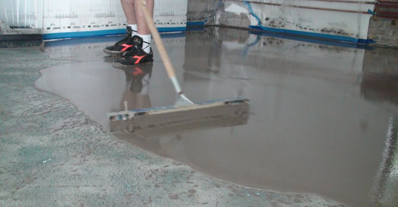 Polished overlay tips the concrete network for Concrete floor leveling