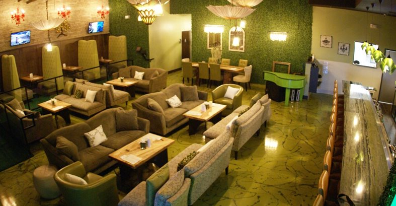 Metallic Flooring, Wine Lounge Floor Commercial Floors A-Plus Concrete Construction Fresno, CA