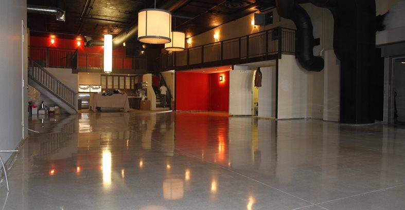 Polished, Floor, Gray Commercial Floors Concrete Floors Polishing & Sealing Ltd Ottawa, ON