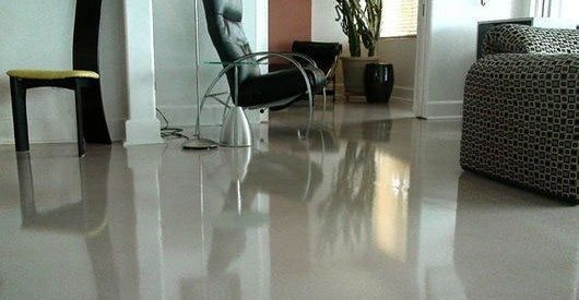Polished, Overlay Commercial Floors Madstone LLC Barrington, RI
