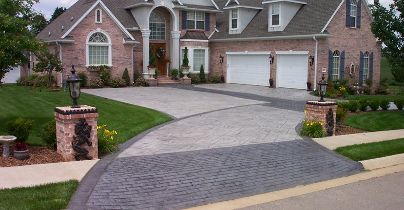 Stamped Concrete Driveways The Concrete Network