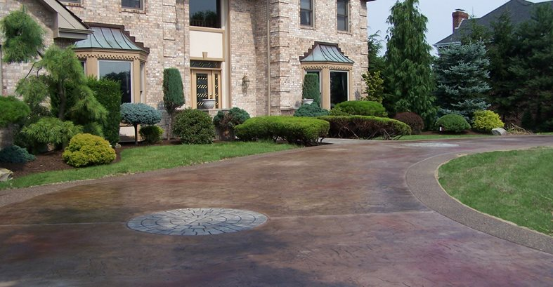 Stamped Concrete Home : Concrete designs english tudor home styles and ideas