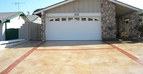 Exterior Concrete Driveways Eastcoat LLC Ashland, VA