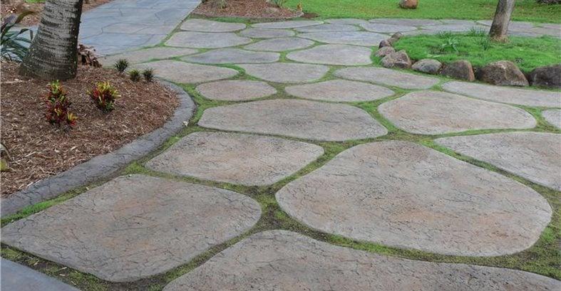 Concrete Driveways RockMolds.com Makawao, Maui, HI