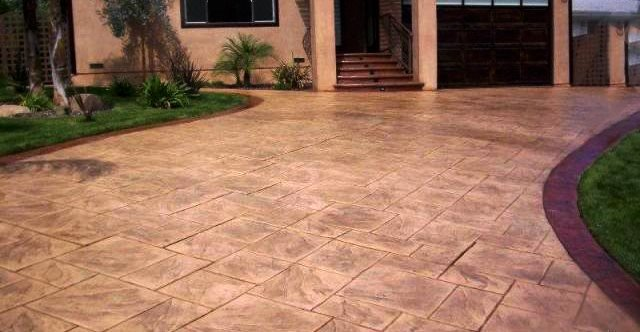 Stamped Concrete Driveways The Network