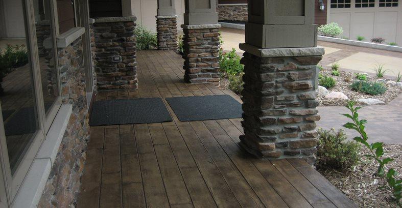 Walkway Concrete Driveways Allstate Decorative Concrete Cokato, MN