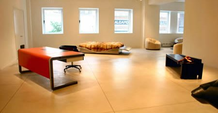 Modern, Bone Concrete Floors Diversified Decorative Finishes Inc Brooklyn, NY