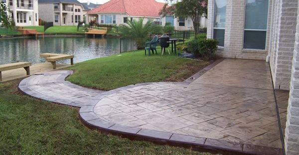Desert Tan Concrete Patios Supreme Concrete U0026 Tile Houston, ...