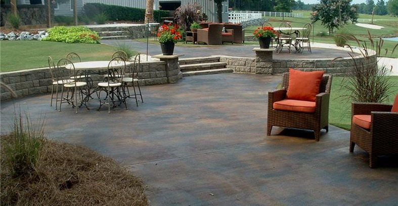 Exceptionnel Concrete Patios Southern Textures Lexington, SC