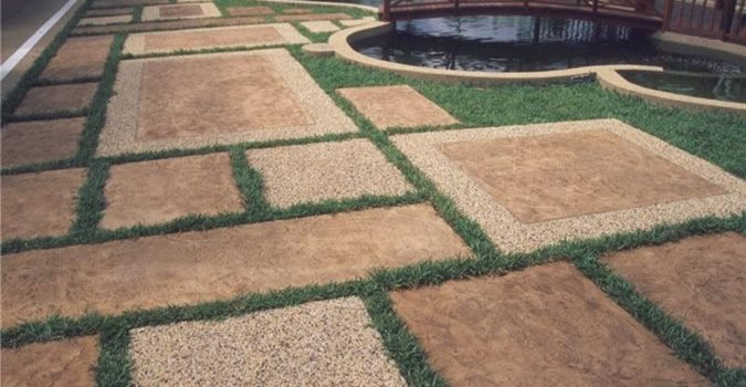 2 Concrete Pool Decks ConcreteNetwork.com ,