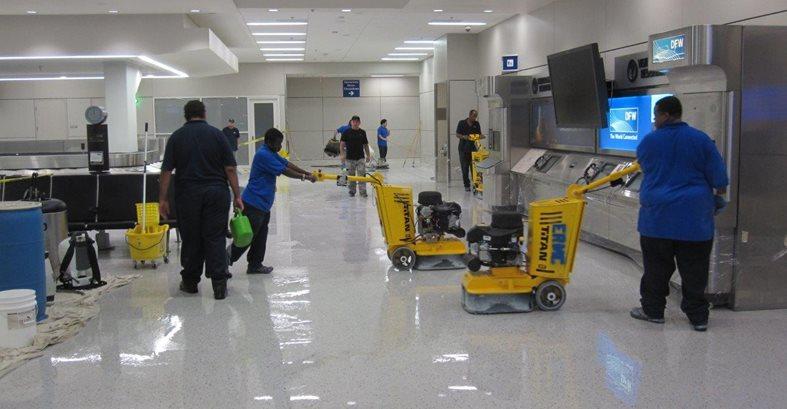8 - Dfw Airport 800 Grit Process Concrete Pool Decks ConcreteNetwork.com ,