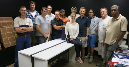 Concrete Countertop Institute Class Concrete Pool Decks Concrete Countertop Institute Raleigh, NC