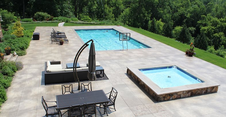 Concrete Pool Deck  Concrete Pool Decks ConcreteNetwork.com ,