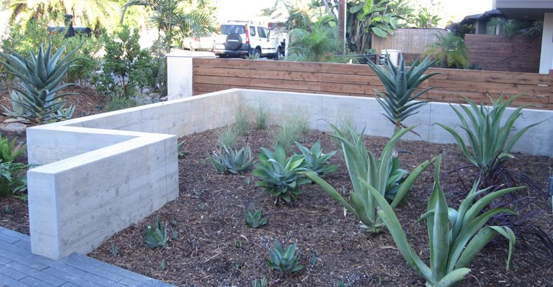 Garden Walls Concrete Pool Decks ConcreteNetwork.com