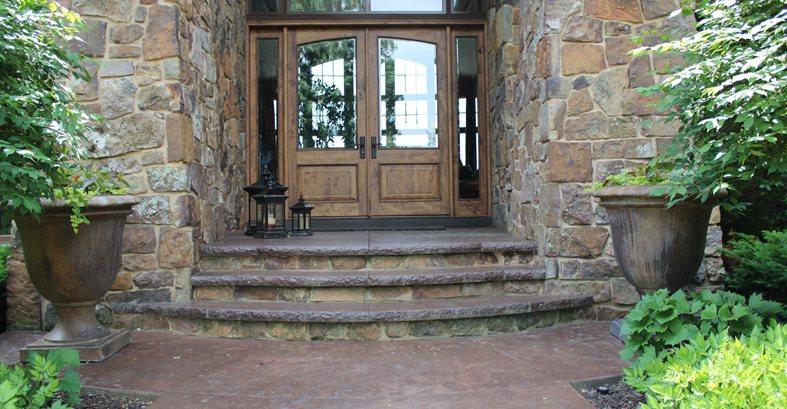 Porch, Concrete Concrete Pool Decks ConcreteNetwork.com ,