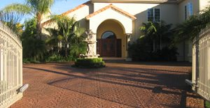 Entrance, Driveway Concrete Sinks Creative Concrete Works Irvine, CA