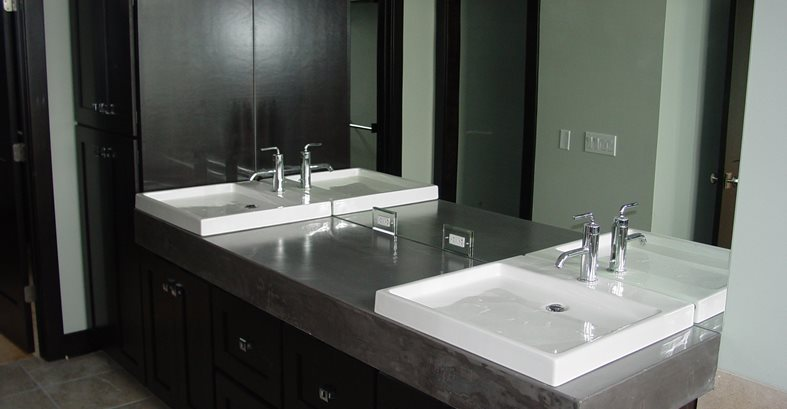 Bathroom Vanity Concrete Designs For Bathroom Vanities
