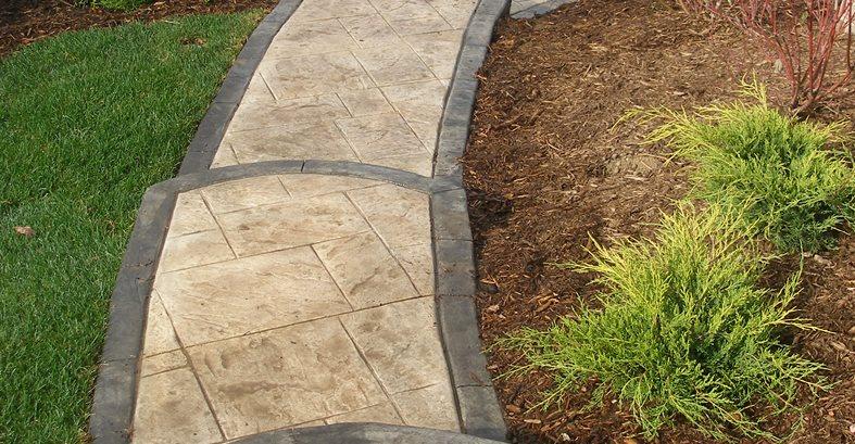 Concrete Walkways John's Cement Milford, MI