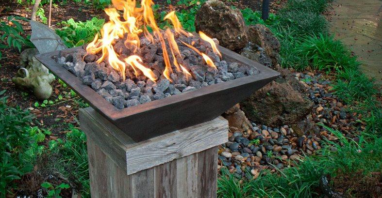 Fire Pillar Fireplace Surrounds C.S.W. Creations Simonton, TX