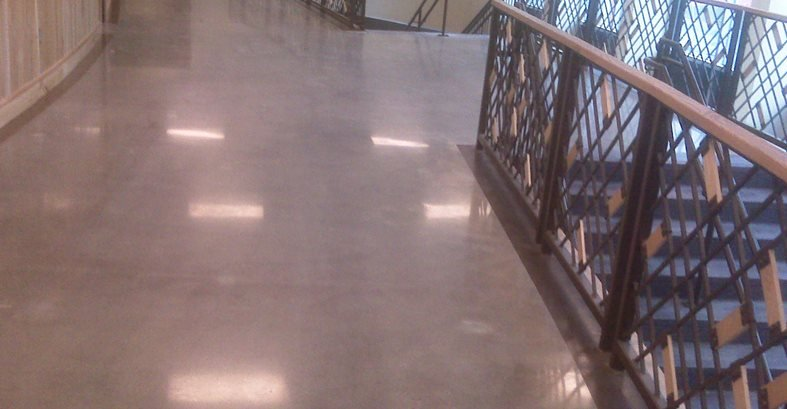 Floor Logos and More Carolina Concrete Floor Polishing LLC Spartanburg, SC