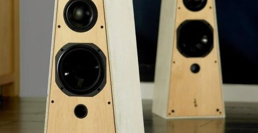 Concrete Speakers Floor Logos and More Concrete Speakers