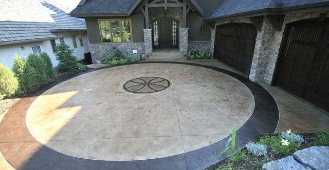 Floor Logos and More Creto Concrete Inc Airdrie, AB