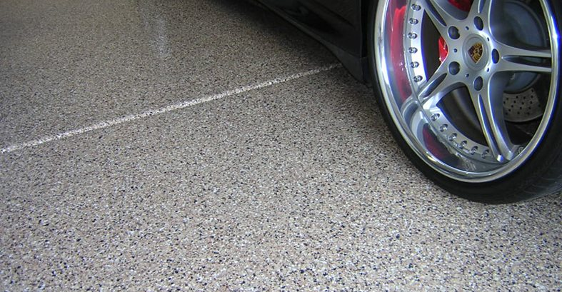Tan, Grains Garage Floors Yezco Concrete Polishing Phoenix, AZ