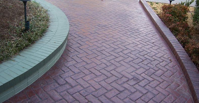 Brick, Stamping Site Solid Rock Concrete Services Gravette, AR