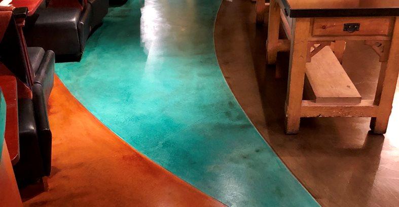 Bright Colors, Concrete Stains Site KB Concrete Staining Norco, CA
