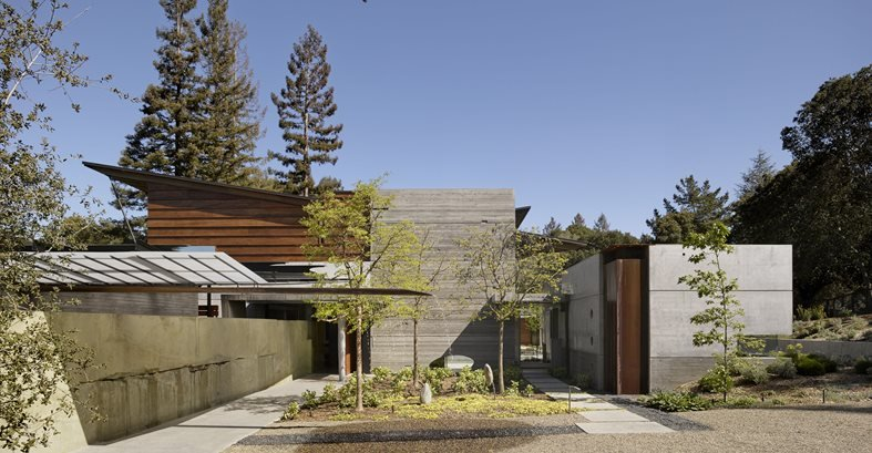 Butterfly Roof Site Cheng Design Berkeley, CA