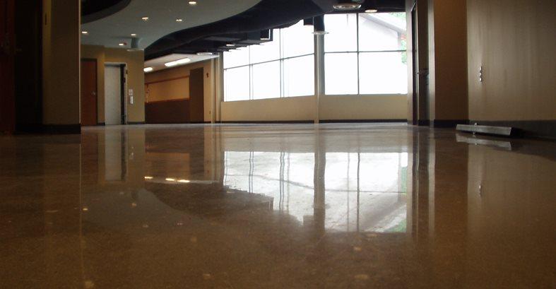 Cherokee School Gets Polished Concrete Floors The