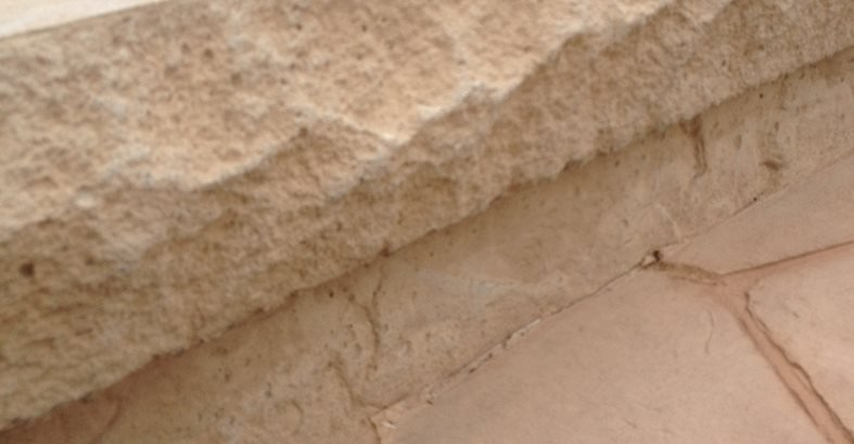 Chiseled Stone Form Liner Site Butterfield Color® Aurora, IL