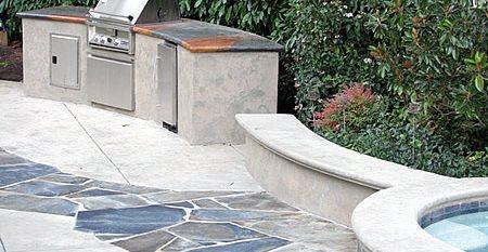 Concrete Bbq Site Tom Ralston Concrete Santa Cruz, CA