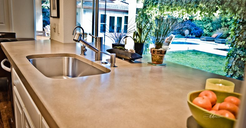 Concrete Countertop Site Flying Turtle Cast Concrete Modesto, CA