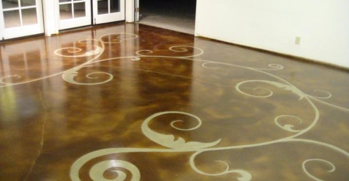 Concrete Floor Art Site Seasons Inc Las Vegas Nv