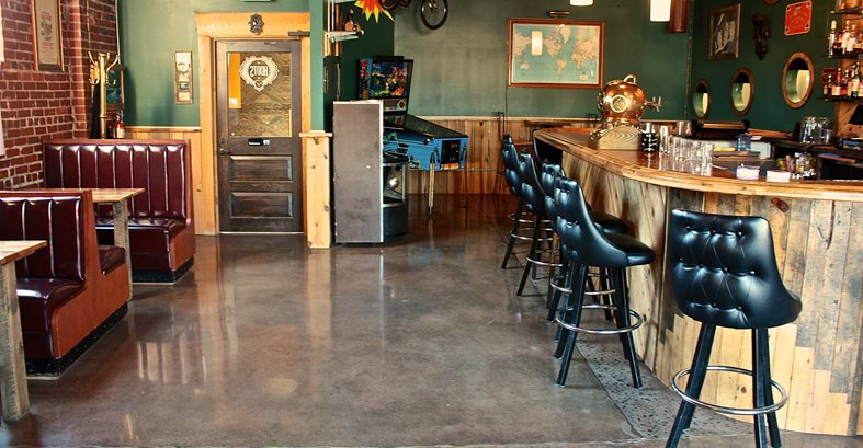 Brewery Floors Polished Amp Dyed The Concrete Network