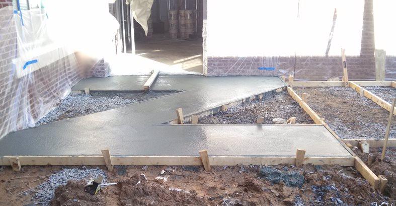 Concrete Forms, Rebar Site Concrete By Design LLC Sharpsburg, GA