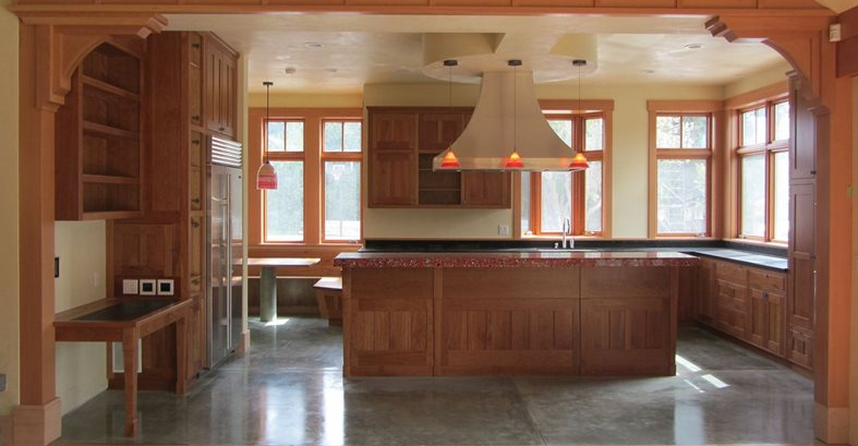 Concrete Kitchen Floors, Radiant Heat Site Alchemy Construction Inc Arcata, CA
