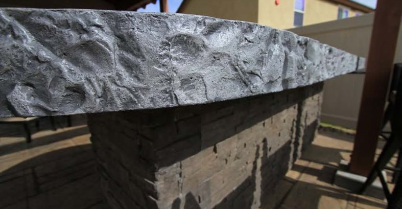 Concrete Patio And Fire Pit Site Allen Decorative Concrete Escondido, CA