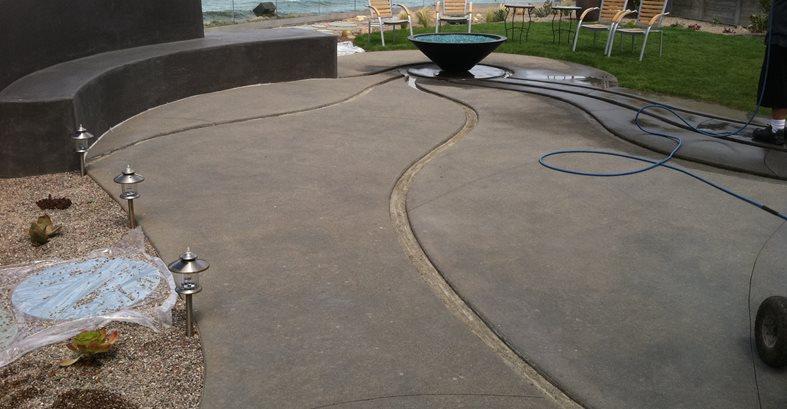 Concrete Patio Design Site Suncoast Concrete Coatings Inc San Diego, CA