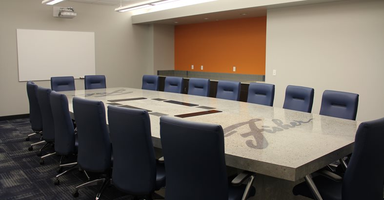 Concrete Table Site Fisher Companies Midland, MI