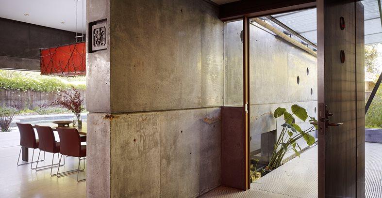 Concrete, Wall, Floor Site Cheng Design Berkeley, CA