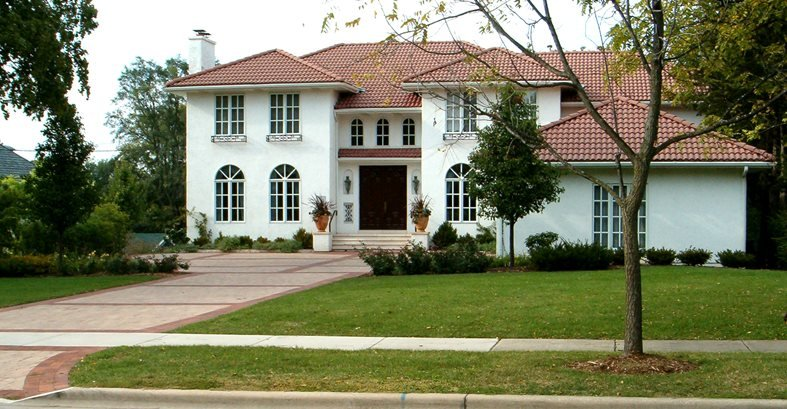 Concrete designs spanish and southwestern home styles and for Southwestern style homes