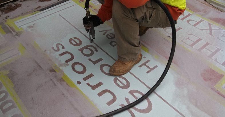 Custom Stencils, Sandblaster Site Concrete By Design LLC Sharpsburg, GA