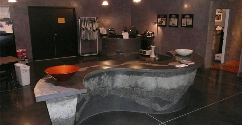 Stamped Concrete Showroom : Why have a decorative concrete showroom the network