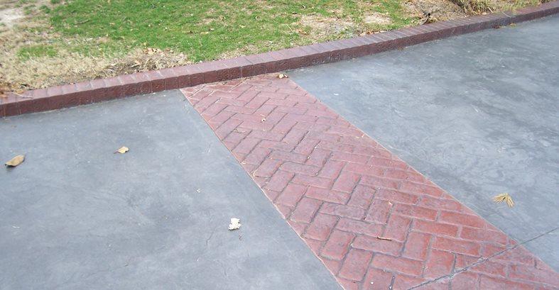 Herring Bone Site Solid Rock Concrete Services Gravette, AR